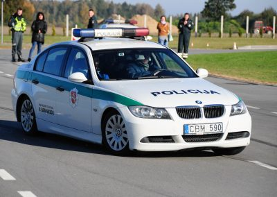 Policijos ekipažų vairuotojų mokymai
