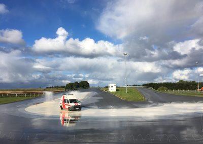 Greitosios pagalbos vairuotojų vairavimo įgūdžių tobulinimas