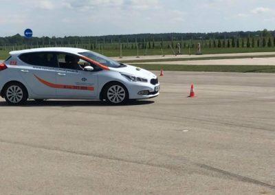 Vairavimo įgūdžių tobulinimas